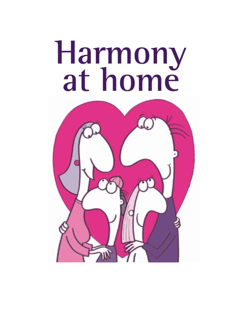 Harmony At Home logo with header
