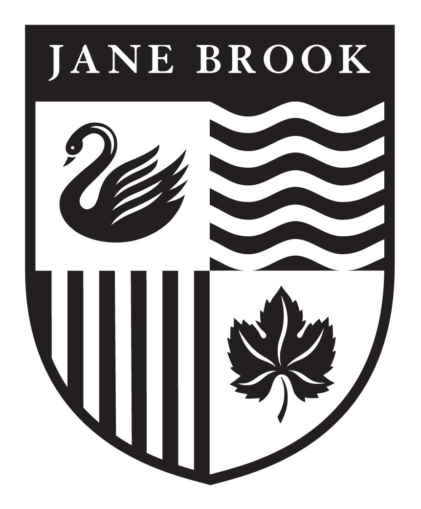 Jane Brook Black and White Logo