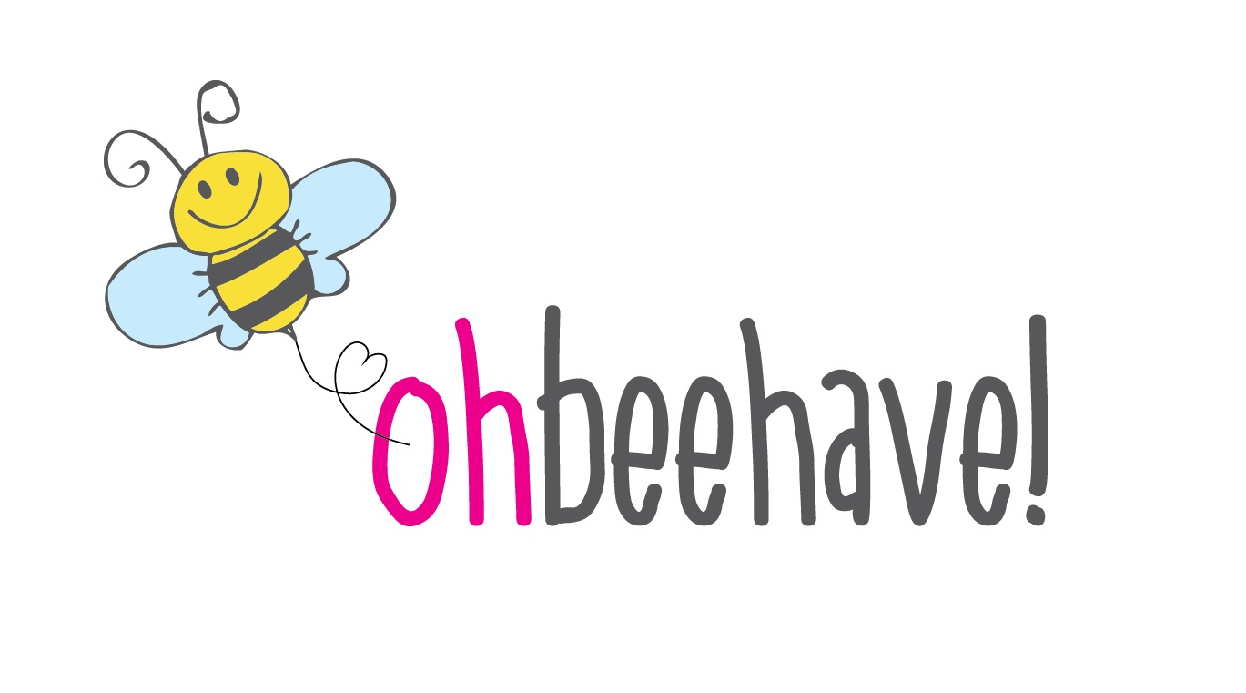 Oh Beehave Logo